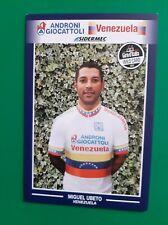 CYCLISME carte cycliste MIGUEL UBETO équipe ANDRONI GIOCATTOLI Venezuela