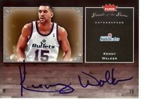 Kenny Walker 2005-06 Fleer Greats of the Game Auto Autograph Bullets #GG-KW