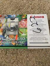 Canon Powershot S110 LENS ERROR