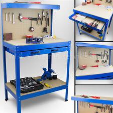 Werkbank Werktisch Arbeitstisch Arbeitsplatte Lochwand Schublade Werkstatt NEU