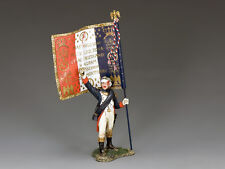 King and Country Napoleon's Imperial Guard Officer Flagbearer NA366