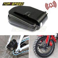 Motorcycle Scooter Anti-theft Brake 6mm Disc Wheel Alarm Security Disc Lock Loud