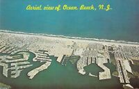NJ Ocean Beach AERIAL VIEW c1960 MINT Dexter Press postcard A89