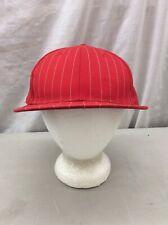 Trucker Hat Baseball Cap Vintage FINL 365 Stripes Red Bold Retro Cool  7 1/2