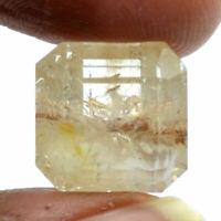 Cts. 14.85 Natural Madagascar Lodolite Garden Quartz Square Cut Loose Gemstones