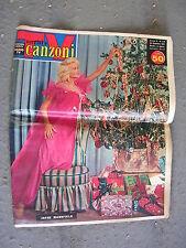TV SORRISI e CANZONI # 52 - 24 DICEMBRE 1961 - JAYNE MANSFIELD