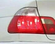 BMW OEM E46 Sedan 1999-2001 Euro Clear Taillights Side Markers Corner Lights New