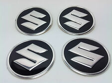 NEW 4pcs Decal Alu Stickers for Wheel Centre Cap Hubs for SUZUKI- 60mm