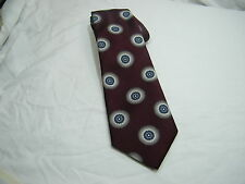 Christian Dior Dark Purple Silk Tie