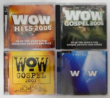 LOT of 4 WOW Religious CDs in Jewel Cases New and Used