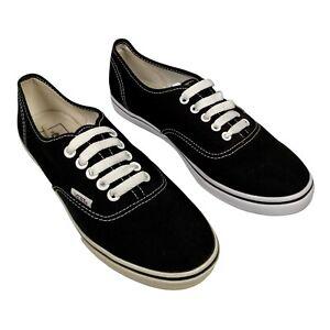 VANS Men's/Women's Uk Size 5.5 Converse Style Trainers Black & White Pumps