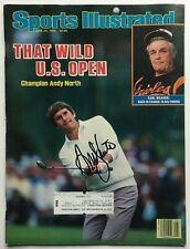ANDY NORTH signed autograph SPORTS ILLUSTRATED