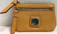 *Dooney & Bourke*Mustard*SAFFIANO*Small Coin Case/Purse Change Purse 17077C S165