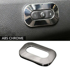 1pcs ABS Chrome Seat Switch Button Cover Trim For Jeep Grand Cherokee 2011-2018