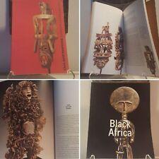 Fine African Art 2-book bundle Mask Figure Sculpture Statue Jewelry