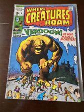 WHERE CREATURES ROAM #4 1971