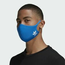 1 Adidas Face Mask Cover 100% Authentic Adult Size Adult Large - Ships Same Day