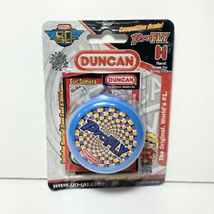 Duncan Pro Fly Yo-Yo New Competition Grade 2009 Blue 80th Anniversary