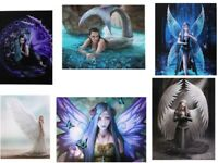 Various Canvas Wall Plaques Anne Stokes Lisa Parker Fairies Mermaids Mythical