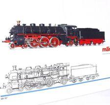 """Marklin AC HO 1:87 German DB BR 18 S 3/6 """"RHEINGOLD"""" STEAM LOCOMOTIVE MIB`98!"""