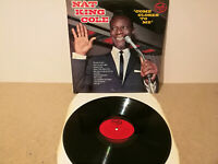 """NAT KING COLE , 'COME CLOSER TO ME' . 12"""" 33rpm VINYL LP RECORD . EASY LISTENING"""