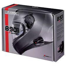 Nolan N-Com B901R Single Pack Bluetooth Motorcycle Communication Kit System