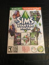 The Sims 3 Starter Pack PC 3 Games in 1