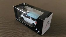 Car Miniature Norev « DS3 Collection 3 Inches White And Blue 2010 » TBE