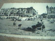 postcard used old la panne zeedijk oostkant hotel pension
