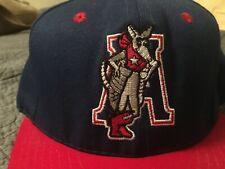 VTG Amarillo Armadillos Dillos Snapback hat cap 90s retro California Headwear