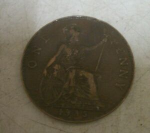 Coin UK Penny 1935 ; Sold for Charity