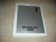 56704) Toyota Starlet Pressemappe 1996