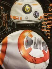 "NEW!! 16"" Kids Star Wars Driod BB-8 Backpack Makes Sounds, Lights Up!"
