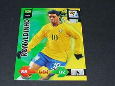 RONALDINHO BRESIL BRASIL PANINI FOOTBALL CARD FIFA WORLD CUP 2010 SOUTH AFRICA