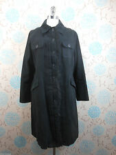 Women's Outdoor Cotton Blend Button Full Length Coats & Jackets
