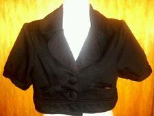 süßer Bolero Cardigan Kurzjacke Sweater schwarz von New Yorker Gr. 36 S wie neu!