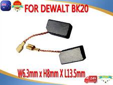 Carbon Brushes For Dewalt BK20 DW801 DW803 DW806 DW810 DW812 6.3X8X13mm Grinder