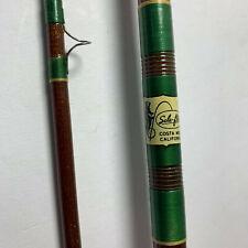 vtg Silaflex Perfexion 8 1/2 ft 2pc Fiberglas Fly Rod 216-med Costa Mesa CA