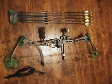 bear archery compound bow game over right hand