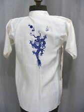 1950S CHILDS KIMONO ROBE JAPANESE SOUVENIR BLUE DRAGON VINTAGE COAT UNWORN W/TAG