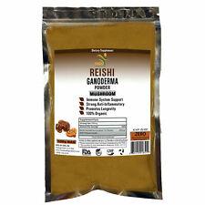 REISHI MUSHROOM GANODERMA POTENT 15:1 EXTRACT 60% POLYSACCHARIDE POWDER ORGANIC