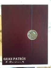 Gran Patron Burdeos Signed And Numbered Wooden Case