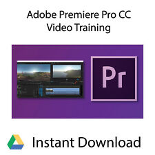 Adobe Premiere Pro CC Professional Video Training Tutorial - Instant Download