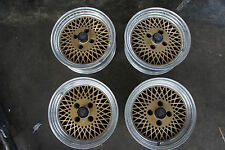 "JDM ENkei Mesh 15"" rims wheels ae86 SSR oldschool artisan ta22 Japan original"