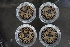 "JDM ENkei Mesh 15"" rims wheels ae86 SSR oldschool artisan ta22 Japan original"