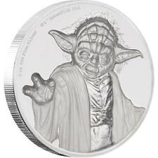 Niue - 5 dólares 2018-Star Wars ™ - Yoda (3.) - 2 Oz plata pp ultra high Relief