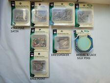 Sewing Supplies, New, Dritz Sewing Pins and Safety Pins