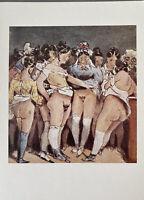 Henry Monnier Paris France Bohème Sex Erotik Vagina Stockings Love Art Nude Akt