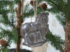 Decorazioni Babbo Natale in metallo per albero di Natale
