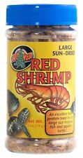 ZOO MED LARGE / JUMBO RED SHRIMP SUN DRIED 1/2 OZ FISH TURTLES FREE SHIP IN USA